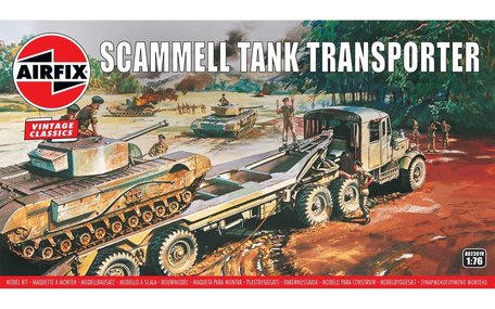 Airfix Scammel Tank Transporter 1:76