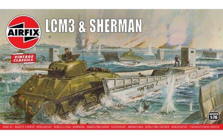 Airfix LCM3 & Sherman 1:76