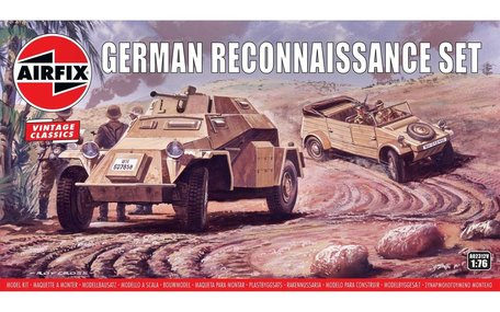 Airfix German Reconnaisance Set 1:76