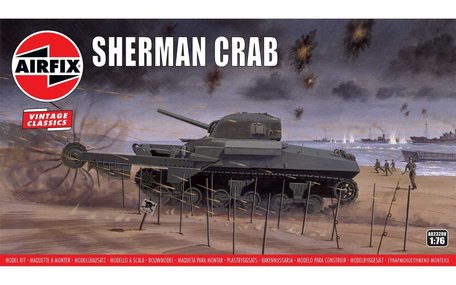 Airfix Sherman Crab 1:76