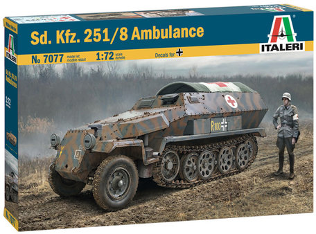Italeri Sd. Kfz. 251/8 Ambulance 1:72