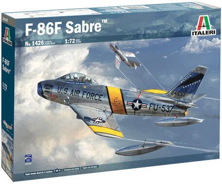 Italeri F-86F Sabre 1:72