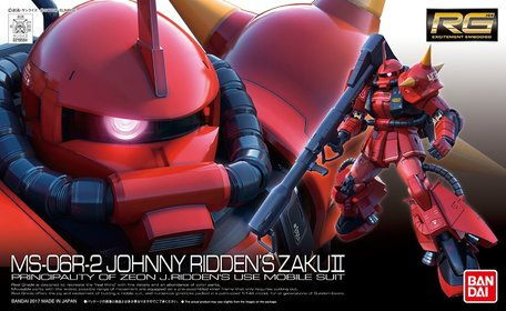RG 1/144: MS-06R-2 Johnny Ridden's Zaku II