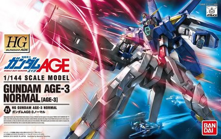 HG 1/144: AGE-3 Gundam AGE-3 Normal