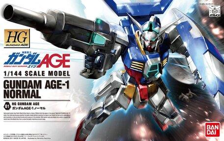 HG 1/144: AGE-1 Gundam AGE-1 Normal