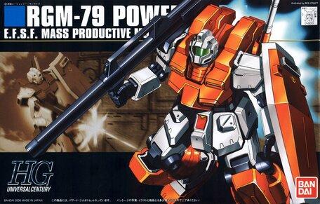 HG 1/144: RGM-79 Powered GM
