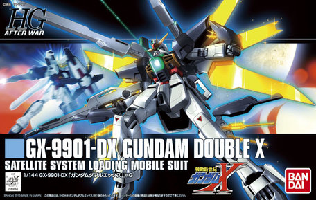 HG 1/144: GX-9901-DX Gundam Double X