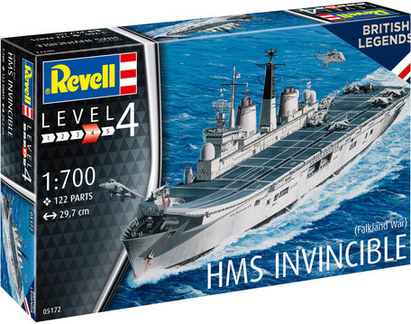 Revell HMS Invincible (Falkland War) 1:700