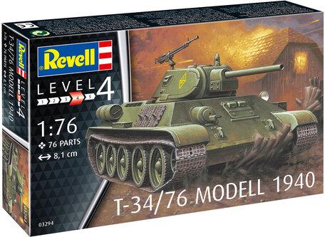 Revell T-34/76 Modell 1940 1:76