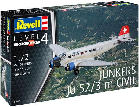 Revell Junkers Ju52/3m Civil 1:72