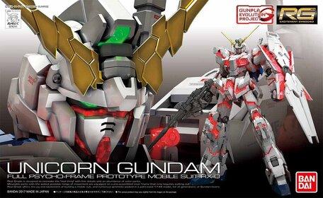 RG 1/144: RX-0 Unicorn Gundam