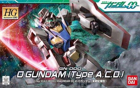 HG 1/144: GN-000 0 Gundam (Type A.C.D.)
