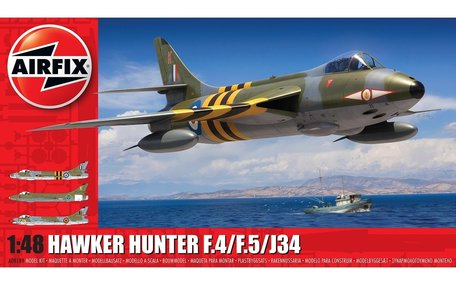 Airfix Hawker Hunter F.4/F.5/J.34 1:48