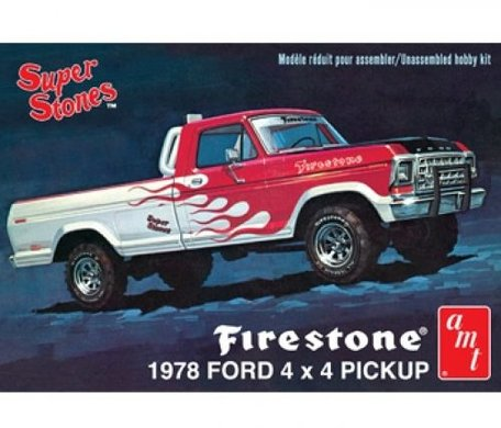 AMT Firestone 1978 Ford Pickup 1:25