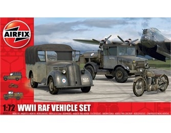 Airfix WWII RAF Vehicle Set 1:72
