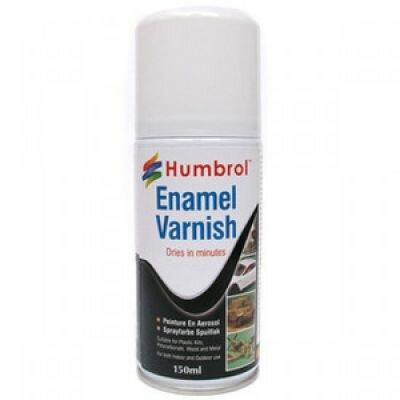 Humbrol Enamel Vernis Spray: Mat