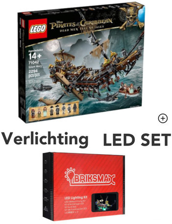 LEGO 71042 Silent Mary + LED Verlichting