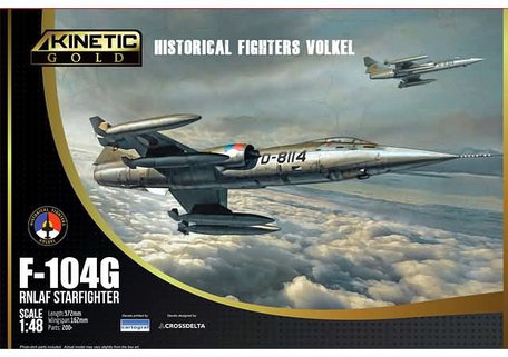 Kinetic F-104G RNLAF Starfighter NETHERLAND 1:48