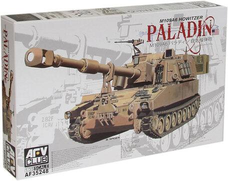 AFV Club M109A6 Howitzer Paladin 1:35