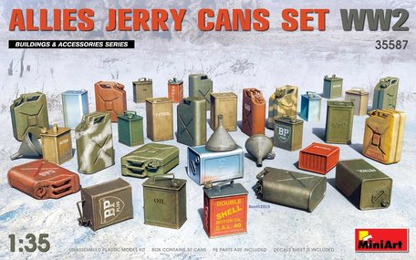 MiniArt Allies Jerry Cans Set WW2 1:35