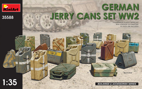 MiniArt German Jerry Cans Set WW2 1:35