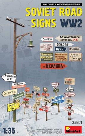 MiniArt Soviet Road Signs WW2 1:35
