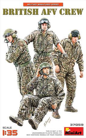 MiniArt British AFV Crew 1:35