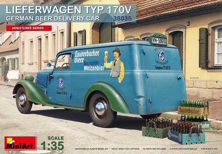 MiniArt Lieferwagen TYP 170V German Beer Delivery Car 1:35