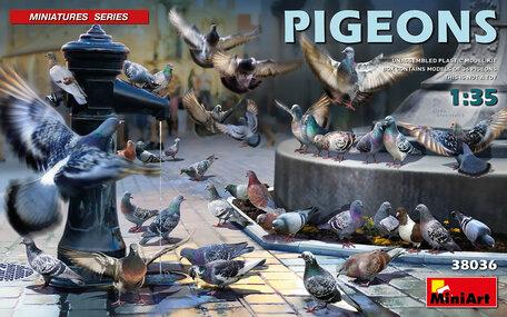 MiniArt Pigeons 1:35