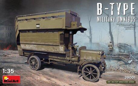 MiniArt B-TYPE Military Omnibus 1:35