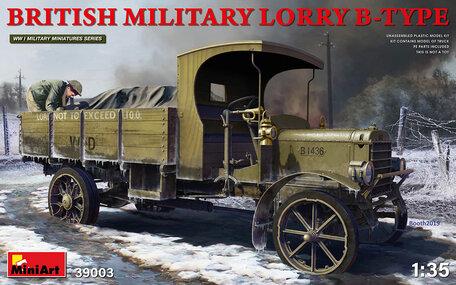 MiniArt British Military Lorry B-TYPE 1:35