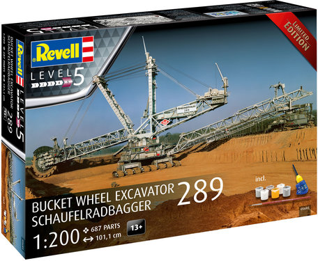 Revell Bucket Wheel Excavator 289 1:200