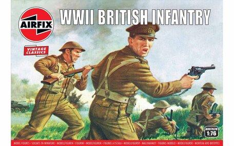 Airfix WWII British Infantry N. Europe 1:76