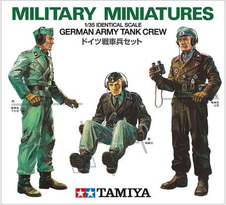 Tamiya German Army Tank Crew 1:35