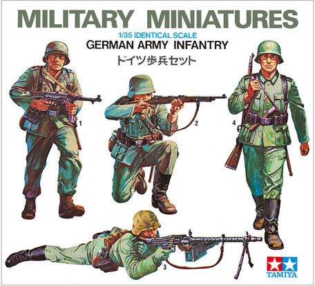 Tamiya German Army Infantry 1:35