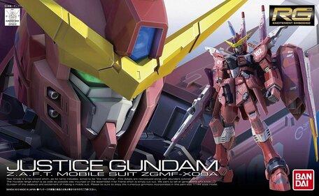 RG 1/144: ZGMF-X09A Justice Gundam