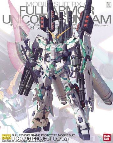 MG 1/100: RX-0 Full Armor Unicorn Gundam Ver.Ka