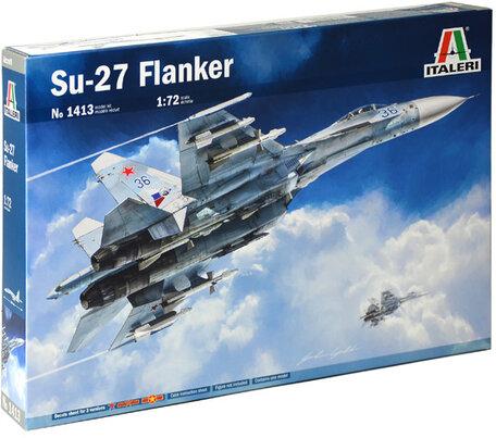 Italeri Su-27 Flanker 1:72