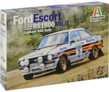Italeri Ford Escort RS 1800 Mk.II Lombard RAC Rally 1:24