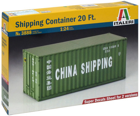 Italeri Shipping Container 1:24