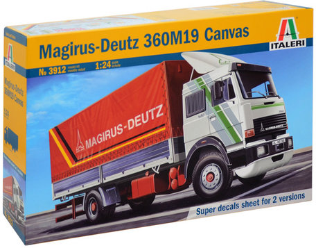 Italeri Magirus-Deutz 360M19 Canvas 1:24