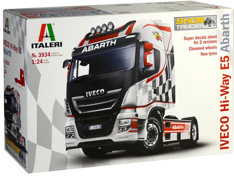 Italeri Iveco Hi-Way E5 Abarth 1:24