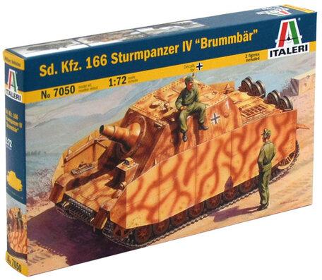 Italeri Sd.Kfz. 166 Sturmpanzer IV Brummbar 1:72