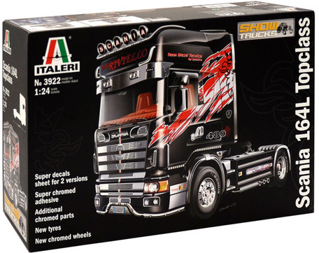 Italeri Scania 164L Topclass 1:24