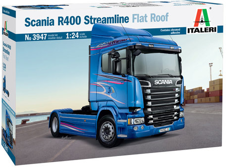 Italeri Scania R400 Streamline Flat Roof 1:24