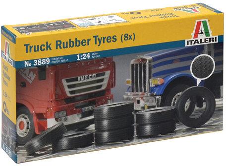 Italeri Truck Rubber Tyres 1:24