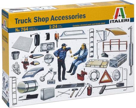Italeri Truck Shop Accessories 1:24