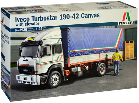 Italeri Iveco Turbostar 190-42 Canvas with Elevator 1:24