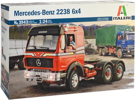 Italeri Mercedez Benz 2238 6x4 1:24