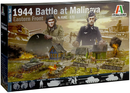 Italeri Battle at Malinava 1944 1:72